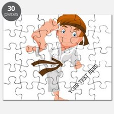 PERSONALIZED KARATE BOY Puzzle