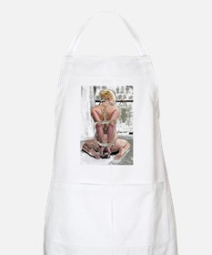 Blonde Submissiv BBQ Apron