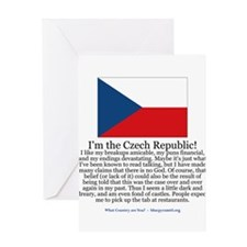 Czech Republic Greeting Card
