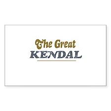Kendal Rectangle Decal