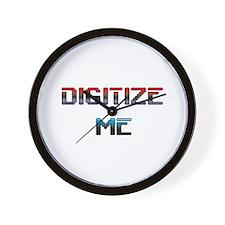 """Digitize Me"" Wall Clock"