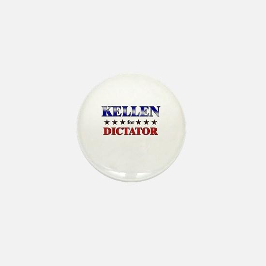 KELLEN for dictator Mini Button