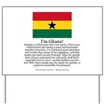 Ghana Yard Sign