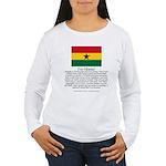 Ghana Women's Long Sleeve T-Shirt
