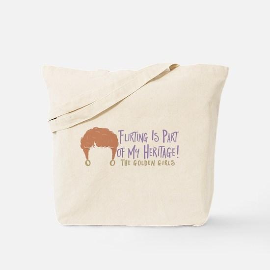 Golden Girls Flirting Tote Bag