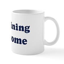 Trampolining is Awesome Mug
