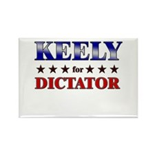 KEELY for dictator Rectangle Magnet