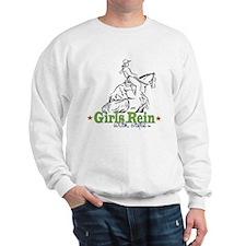 Girls Rein with style - stars Sweatshirt