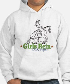 Girls Rein with style - stars Hoodie