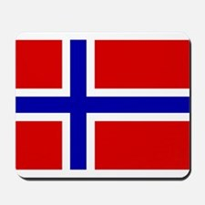 Norwegian Flag Mousepad