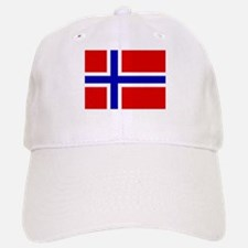 Norwegian Flag Baseball Baseball Cap