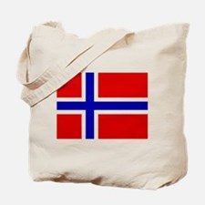 Norwegian Flag Tote Bag