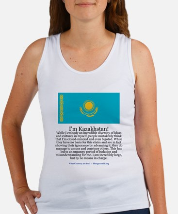 Kazakhstan Women's Tank Top