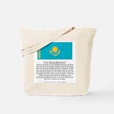 Kazakhstan Tote Bag