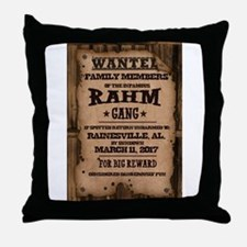 Rahm Throw Pillow