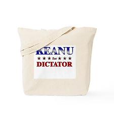 KEANU for dictator Tote Bag