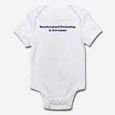 Synchronized Swimming is Awes Infant Bodysuit