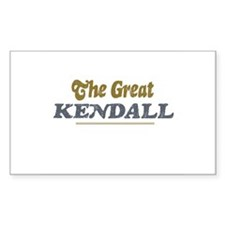 Kendall Rectangle Decal
