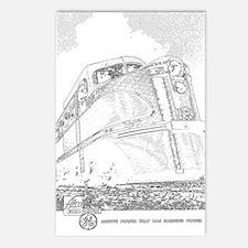1941 Rock Island Locomotives Postcards (Package of