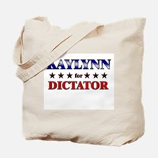 KAYLYNN for dictator Tote Bag