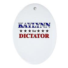 KAYLYNN for dictator Oval Ornament