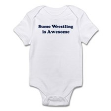 Sumo Wrestling is Awesome Infant Bodysuit