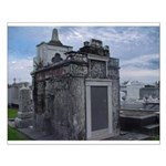 New Orleans' Historic Cemeter Small Poster