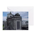 New Orleans' Historic Cemeter Greeting Cards (Pk o