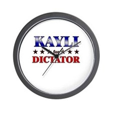 KAYLI for dictator Wall Clock
