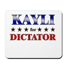 KAYLI for dictator Mousepad
