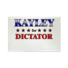 KAYLEY for dictator Rectangle Magnet