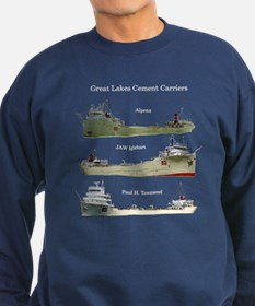 Cement Carriers On The Great Sweatshirt (dark)