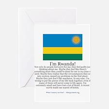 Rwanda Greeting Card