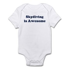Skydiving is Awesome Infant Bodysuit