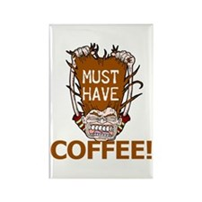 MUST HAVE COFFEE Coffee Lover Rectangle Magnet