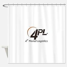 Cute Logistics Shower Curtain