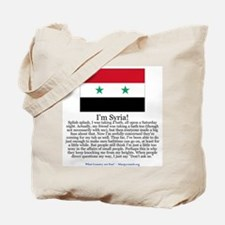 Syria Tote Bag