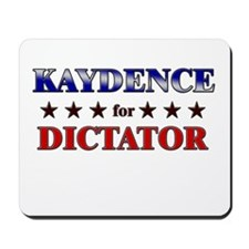 KAYDENCE for dictator Mousepad