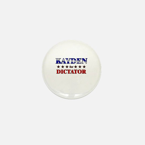 KAYDEN for dictator Mini Button