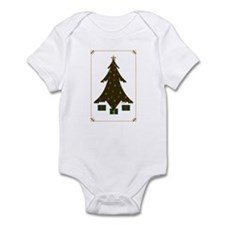 Quilted Christmas Infant Bodysuit