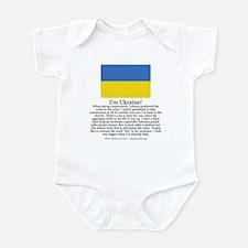 Ukraine Infant Bodysuit