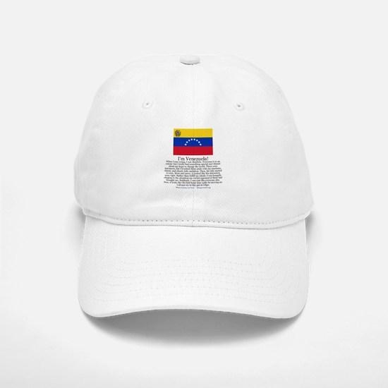 Venezuela Baseball Baseball Cap