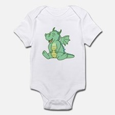 Green Baby Dragon Infant Creeper