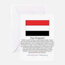 Yemen Greeting Card