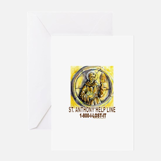 Cute Saint anthony Greeting Card
