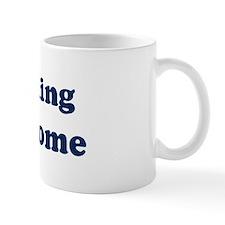 Parasailing is Awesome Mug