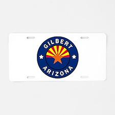 Gilbert Arizona Aluminum License Plate