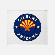 Gilbert Arizona Throw Blanket