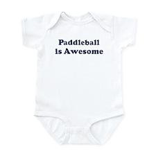 Paddleball is Awesome Infant Bodysuit