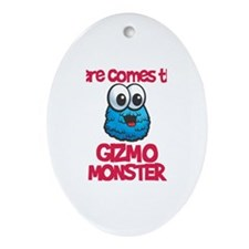 Gizmo Monster Oval Ornament